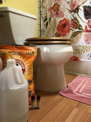 Photo From: Toilet Bowl Cleaner