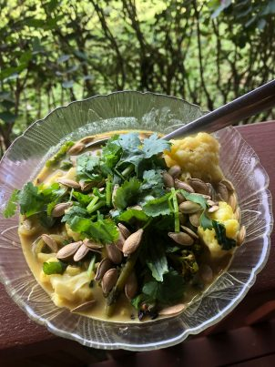 Photo From: Coconut Curry & Bone Broth Soup